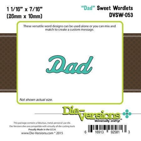 Die-Versions - Sweet Wordlets - Dad