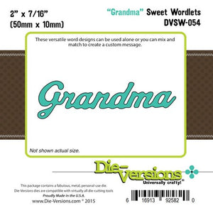 Die-Versions - Sweet Wordlets - Grandma