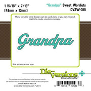 Die-Versions - Sweet Wordlets - Grandpa