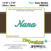 Die-Versions - Sweet Wordlets - Nana