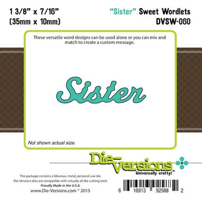 Die-Versions - Sweet Wordlets - Sister