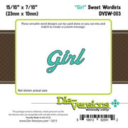 Die-Versions - Sweet Wordlets - Girl
