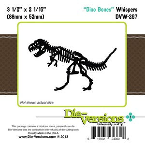 Die-Versions - Whispers - Dino Bones