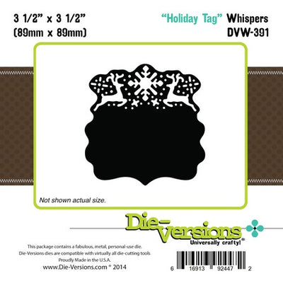 Die-Versions - Whispers - HolidayTag
