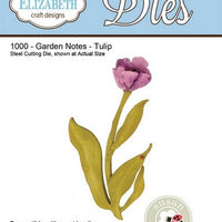 Elizabeth Craft Designs - Garden Notes - Tulip