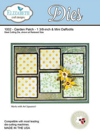 Elizabeth Craft Designs - Garden Patch - 1 3/8-inch & Mini Daffodils