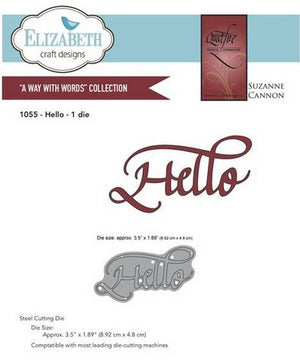 Elizabeth Craft Designs - Hello
