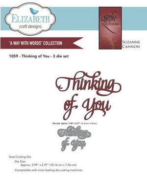 Elizabeth Craft Designs - Thinking Of You