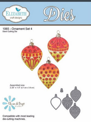 Elizabeth Craft Designs - Ornament Set 4