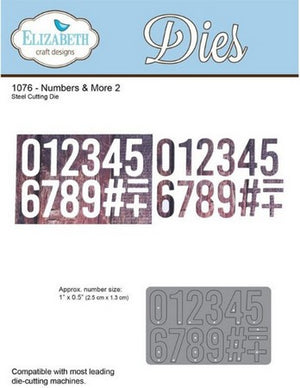 Elizabeth Craft Designs - Numbers More 2