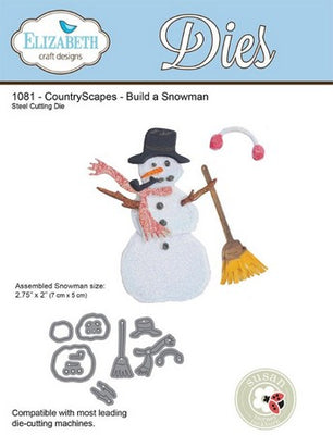 Elizabeth Craft Designs - Build A Snowman