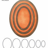 Elizabeth Craft Designs - Fitted Ovals
