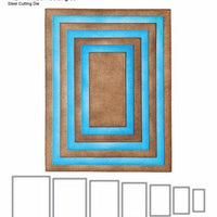 Elizabeth Craft Designs - Fitted Rectangles