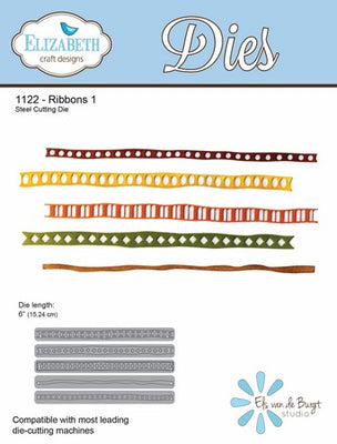 Elizabeth Craft Designs -  Ribbons 1