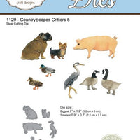 Elizabeth Craft Designs - Critters 5