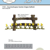 Elizabeth Craft Designs - Garden Edges Daffodil