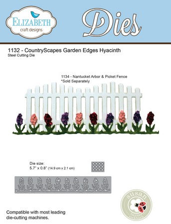 Elizabeth Craft Designs - Garden Edges Hyacinth