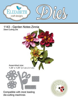 Elizabeth Craft Designs - Zinnia