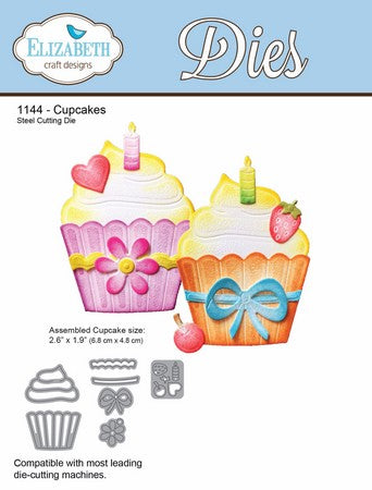 Elizabeth Craft Designs - Cupcakes
