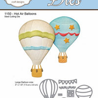Elizabeth Craft Designs - Hot Air Balloons