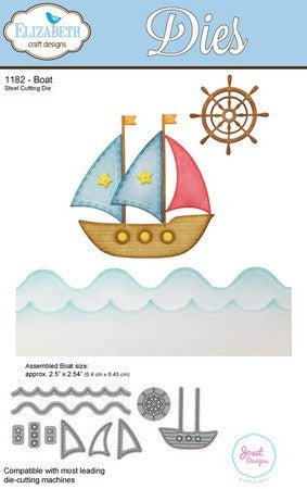 Elizabeth Craft Designs - Dies - Boat
