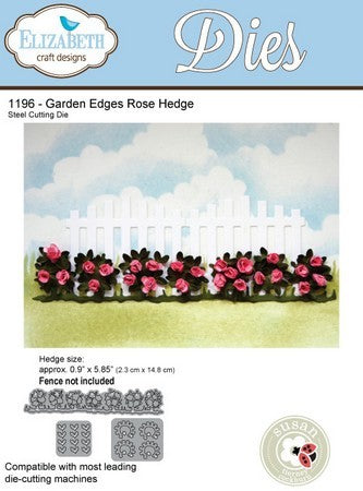 Elizabeth Craft Designs - Dies - Rose Hedge