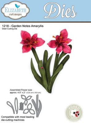 Elizabeth Craft Designs - Dies - Amaryllis