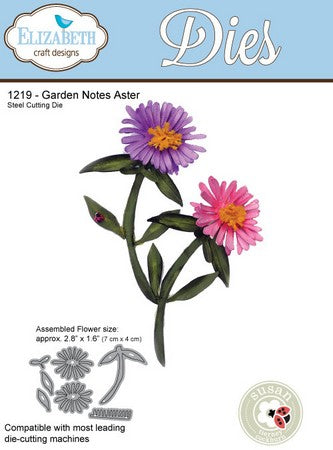 Elizabeth Craft Designs - Dies - Aster