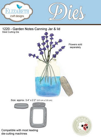 Elizabeth Craft Designs - Dies - Canning Jar & Lid