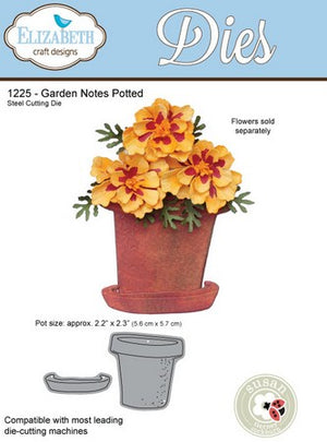 Elizabeth Craft Designs - Dies - Potted
