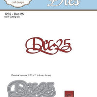Elizabeth Craft Designs - Dies - Dec 25