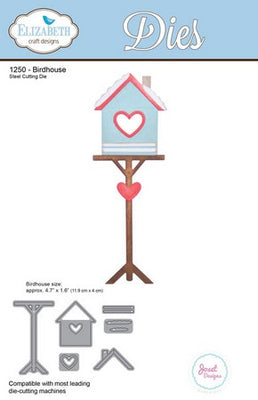 Elizabeth Craft Designs - Dies - Birdhouse