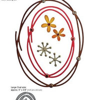 Elizabeth Crafts Designs - Dies - Entwined Ovals
