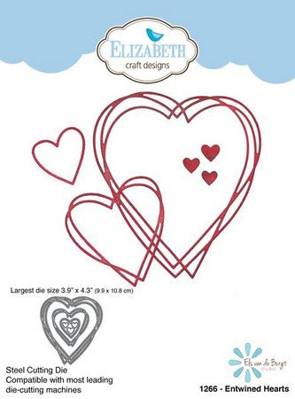 Elizabeth Craft Designs - Dies - Entwined Hearts