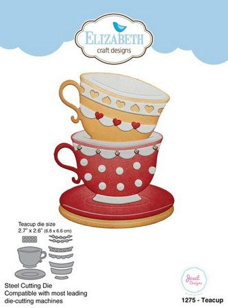 Elizabeth Craft Designs - Dies - Teacup