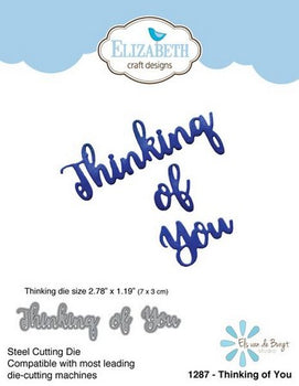 Elizabeth Craft Designs - Dies - Thinking Of You