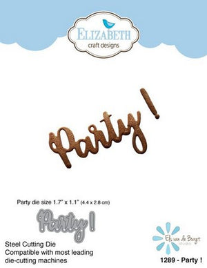 Elizabeth Craft Designs - Dies - Party!