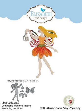 Elizabeth Craft Designs - Dies - Tiger Lily