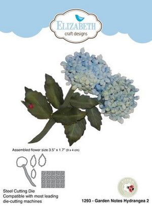 Elizabeth Craft Designs - Dies - Hydrangea 2
