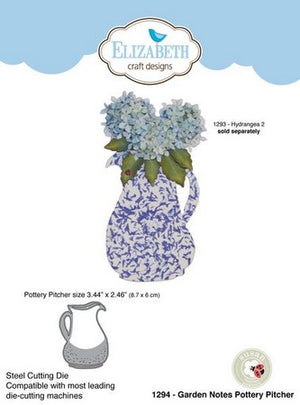 Elizabeth Craft Designs - Dies - Pottery Pitcher
