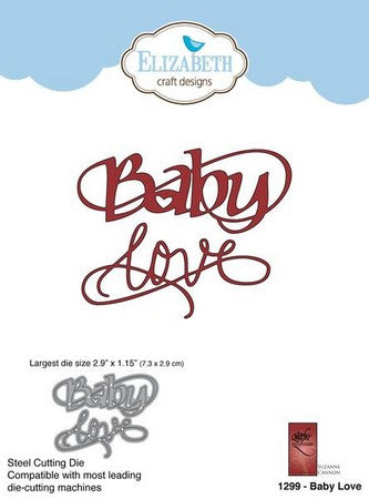 Elizabeth Craft Designs - Dies - Baby Love
