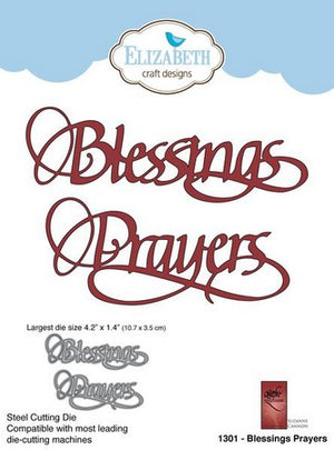 Elizabeth Craft Designs - Dies - Blessings Prayer