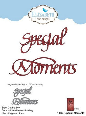 Elizabeth Craft Designs - Dies - Special Moments