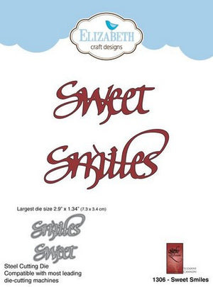 Elizabeth Craft Designs - Dies - Sweet Smiles