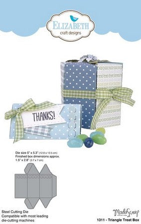 Elizabeth Craft Designs - Dies - Triangle Treat Box