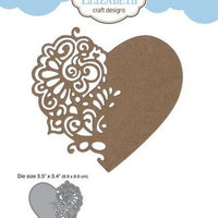 Elizabeth Craft Designs - Dies - Lace Heart