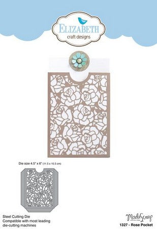 Elizabeth Craft Designs - Dies - Rose Pocket