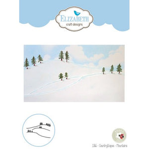 Elizabeth Craft Designs - Dies - ScenicScapes - Mountains