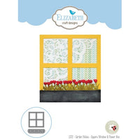 Elizabeth Craft Designs - Dies - Square Window & Flower Box