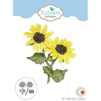 Elizabeth Craft Designs - Dies - Sunflower 2